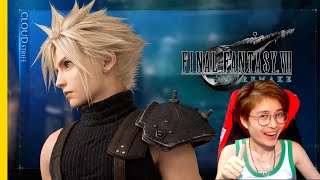 IT'S PERFECT! FINAL FANTASY VII REMAKE - OPENING MOVIE (REACTION)