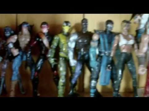 Mortal Kombat Custom Action Figures
