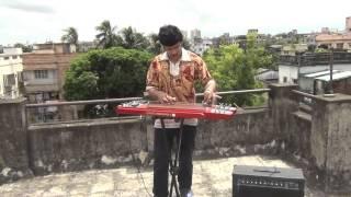 Asha Chilo Bhalobasha Chilo On Instrumental Electric Guitar By Pramit Das Anand Ashram1977 Kishore K