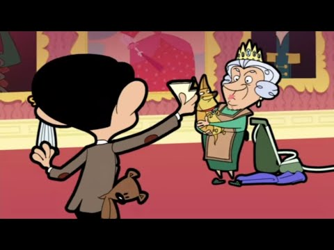 Mr Bean the Animated Series - Mr. Bean - Royal Bean: Meeting The Queen | Queen's Jubilee 2012