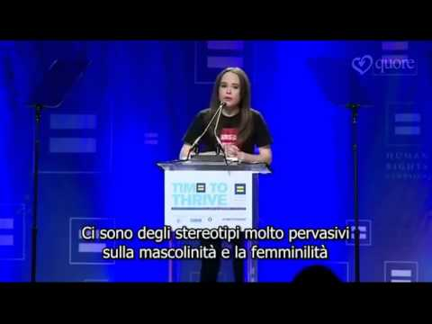 Ellen Page - il coming out sub ITA by Quore