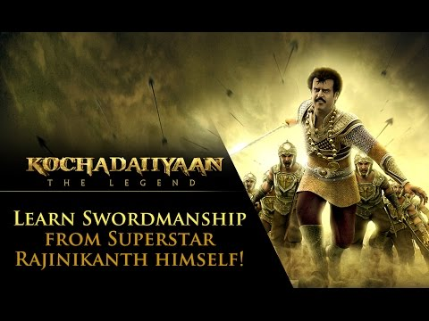 Learn Swordmanship From Superstar Rajinikanth Himself!