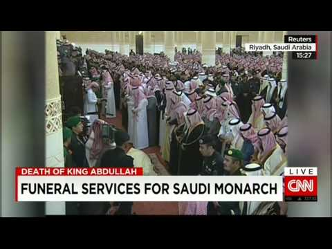 #URGENT: DEATH OF KING ABDULLAH SAUDI ARABIA'S- FUNERAL - HD