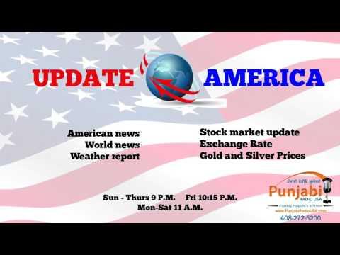 13 April 2016 Update America News Show Punjabi Radio USA