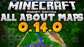 ALL ABOUT MAPS in MCPE - Cursor, Zoom, & More - 0.14.0 Update Video - Minecraft PE (Pocket Edition)