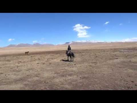 Yurt camp horse riding - Song Kul Lake, Kyrgyzstan