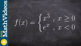 Graph a Piecewise Function With a Jump Discontinuity