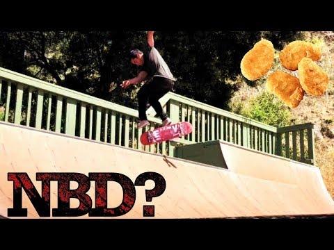 NBD MINI-RAMP TRICK?? - CHRIS PEREZ