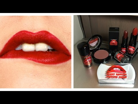 MAC X Rocky Horror Collection Haul, Review & Swatches