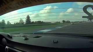 BimmerWorld Racing Seth Thomas BMW E90 328i Indianapolis Motor Speedway Practice