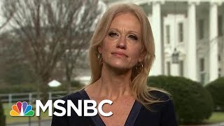 White House Counselor Kellyanne Conway Weighs In On Roy Moore Scandal | Morning Joe | MSNBC