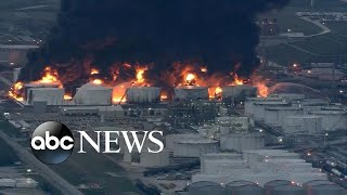 Blaze contained in Texas chemical plant fire