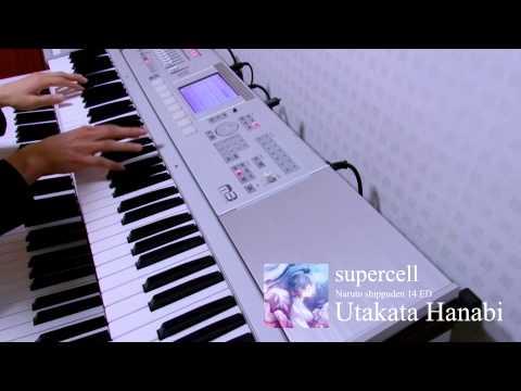 Supercell - Utakata Hanabi Band Cover (piano Part)