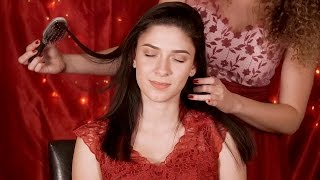 ASMR Gentle Hair Brushing & Scalp Massage, Ear to Ear Whispering for Sleep & Relaxation