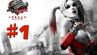 Batman Arkham City - Harley Quinn's Revenge - Walkthrough Gameplay - Part 1 [HD] (X360/PS3/PC)