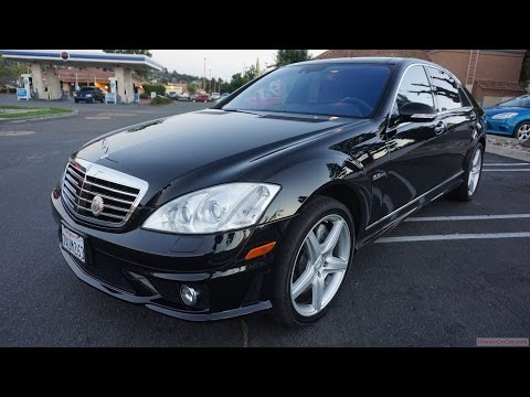 2009 Mercedes Benz S63 AMG W221 Muscle Car Full Video Review