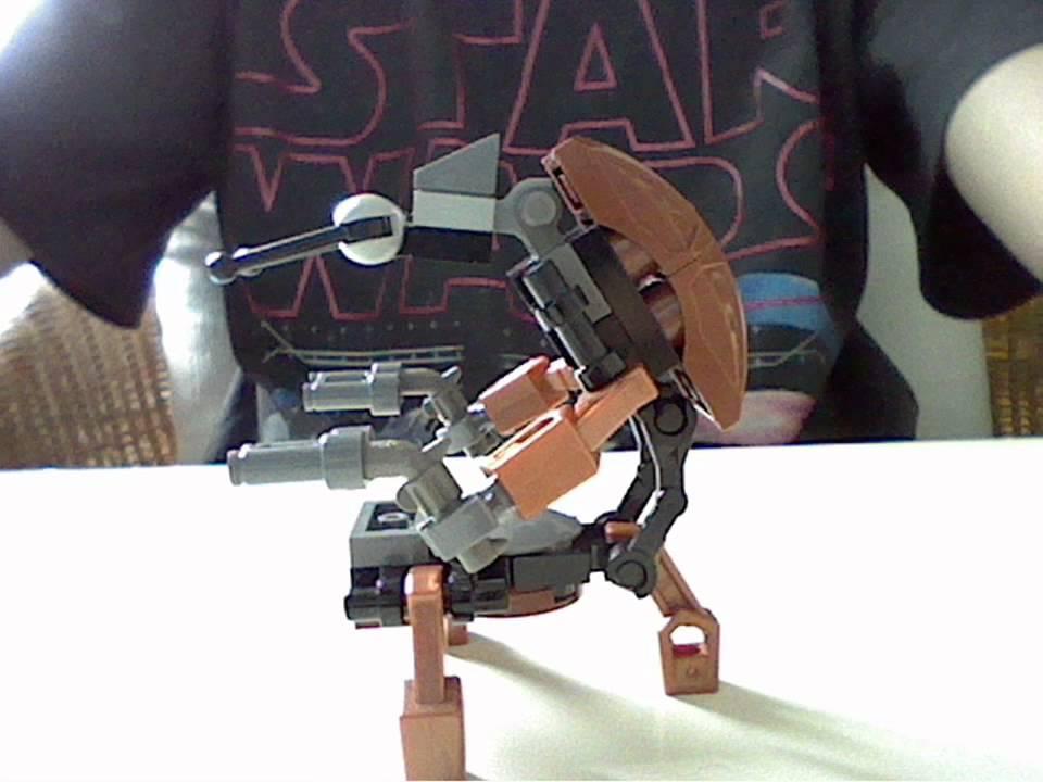 Как сделать дроида из звездных войн лего