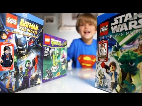 Lego Teenage Mutant Ninja Turtles Set. Lego Batman The Movie, Lego Star Wars video
