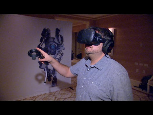 HTC Vive ups its VR game with new design, controllers, and full-room vision
