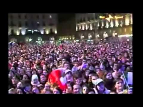 TORINO 2006 PREMIAZIONE ENRICO FABRIS MEDAL PLAZA