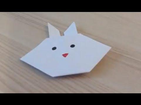 origami comment faire un lapin en papier hd videolike. Black Bedroom Furniture Sets. Home Design Ideas