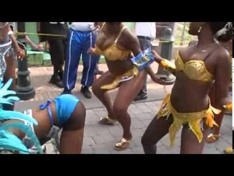 Twerk, Big Booty, Dancing Girls, Mapouka Sxm St Maarten Carnival 2015,  Judith Roumou, video