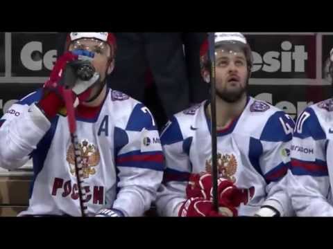 Kovalchuk & Radulov Drinking Pepsi on The Bench - Slovakia vs Russia 12/5/2013