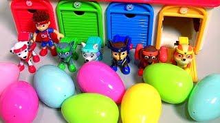 Tayo & Paw Patrol Pups Garage Toys Surprise (꼬마버스 타요 장난감) (퍼피 구조대) 타요 장난감 тайо сюрприз