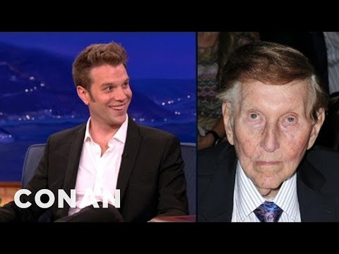 Anthony Jeselnik Is Sumner Redstone s Mouthpiece - CONAN on TBS
