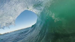 Heavy Winter Reef Session | Bodyboarding POV