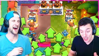 FIRST TOWER WINS!! NICK vs MOLT - Tower Rush Clash Royale