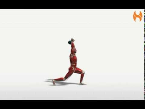 Exercise Videos- Kettlebell Clean and Jerk Image 1