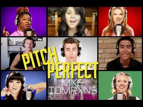 STARSHIPS  - Performed by Mike Tompkins, the PITCH PERFECT Cast and YOU Music Videos