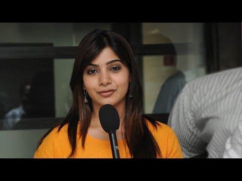 చెర్రీ తో లిప్ లాక్  పై  నాకేం అభ్యంతరం లేదన్న సమంత | Samantha Responds on Liplock Scene