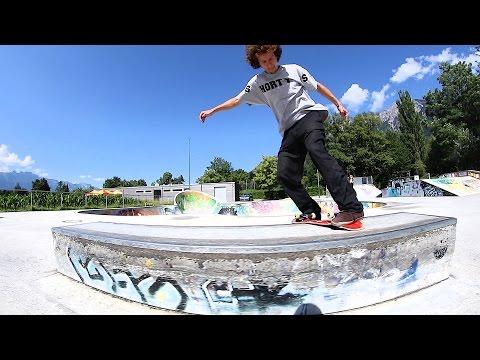 Frontside Darkslide! Rodney Mullen Challenge #6 - Jonny Giger