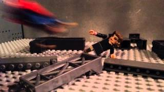 the superman chronicles ep 5 bizarro minimates stopmotion lego man of steel