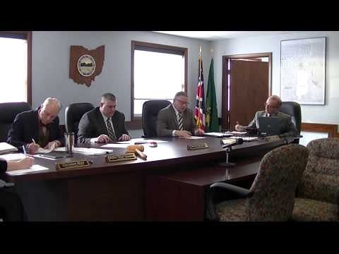 Geauga County Commissioners' Meeting, 3/24/2015