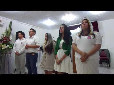Cantos en Pascua 2017: Sociedad juvenil.