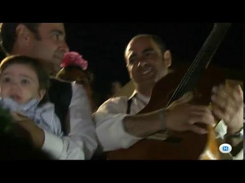 Los Mellizos de San Juan cantando a la Hdad  Huelva