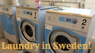 Doing laundry in Sweden, a Review!