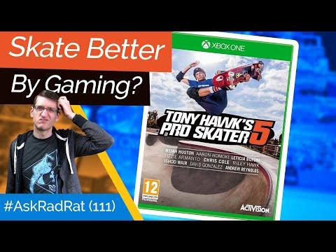 Can Video Games Make You Skate Better? #AskRadRat 111