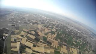 1160 meters altitute FPV SkyWalker 2014