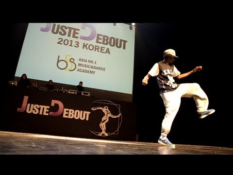 Juste Debout KOREA 2013 House Judge MaMSoN