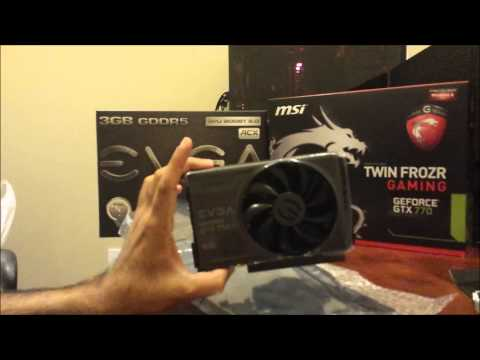 GTX 750TI review. unboxing and benchmarks vs GTX 770 & 780TI