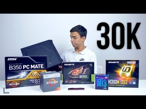 МАСТХЕВНЫЕ ИГРОВЫЕ ПК ЗА 30000 РУБЛЕЙ! INTEL Core i3 8100 или AMD Ryzen 3