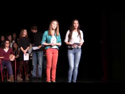 KapljiceTV - Bozic s gimanzijalcima 2012.g. - KKG - BozicnaPjesma