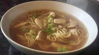 Chinese Takeaway style Chicken noodle soup recipe & cook with me!
