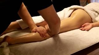 性感マッサージのデモ動画その5 右足 Japanese erotic sex massage Demo 5