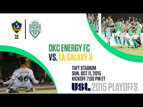 2015 USL Western Conference Final - OKC Energy FC vs LA Galaxy II (English)