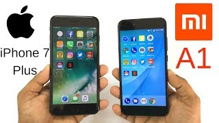 Xiaomi Mi A1 vs iPhone 7 Plus Speed Test! Which Is Faster?